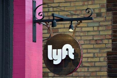 Lyft sign