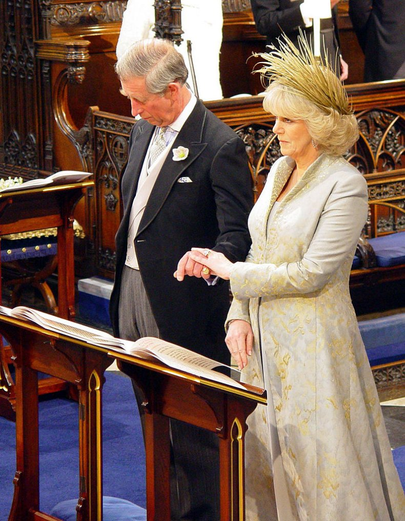 Prince Charles and Camilla Wedding Blessing
