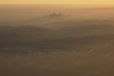 Los Angeles, air pollution