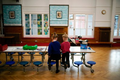 Children of key workers attend school