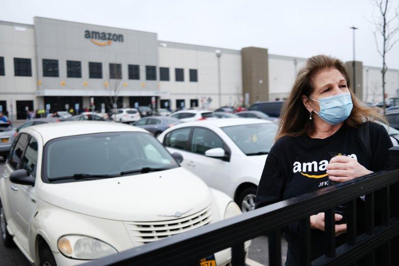 Amazon workers coronavirus protest