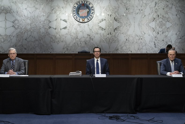 senate impasse over emergency small business funding