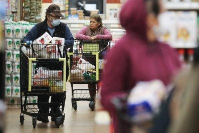 California store during coronavirus