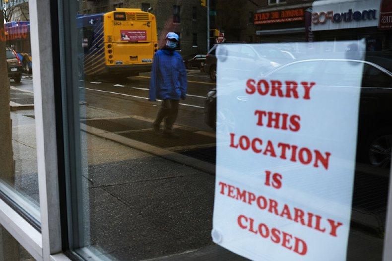 coronavirus causes businesses close queens NY