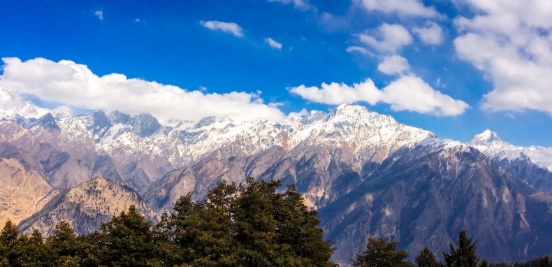 The Dhauladhar Mountain Range
