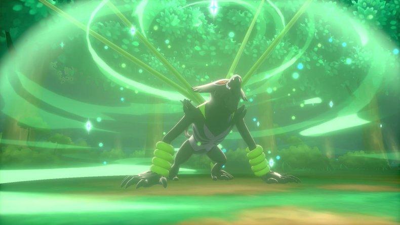 pokemon sword shield zarude jungle healing