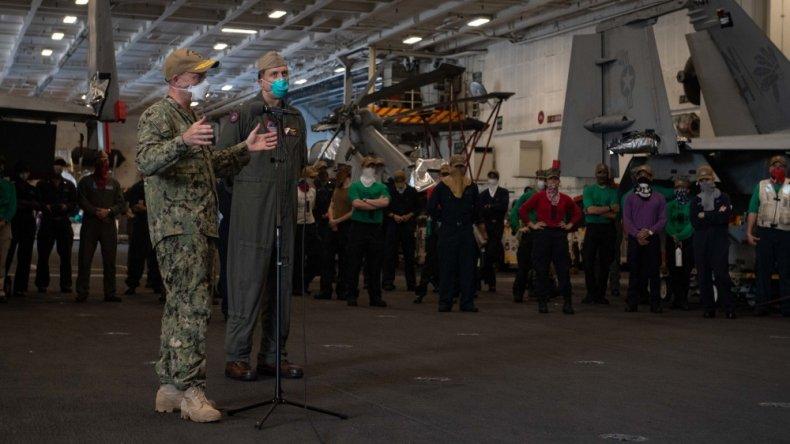 us, navy, theodore roosevelt, aircraft, carrier, guam