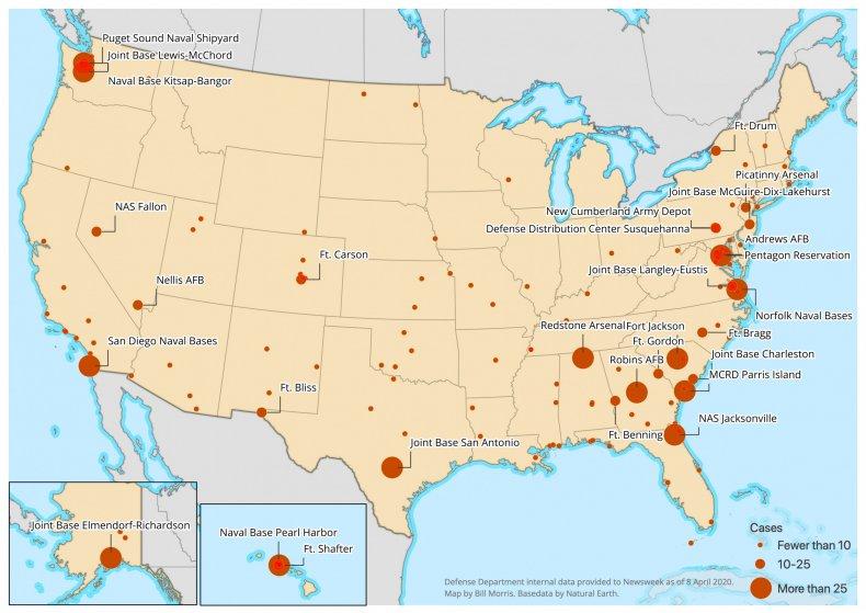 Defense Department Base Data - Updated Color