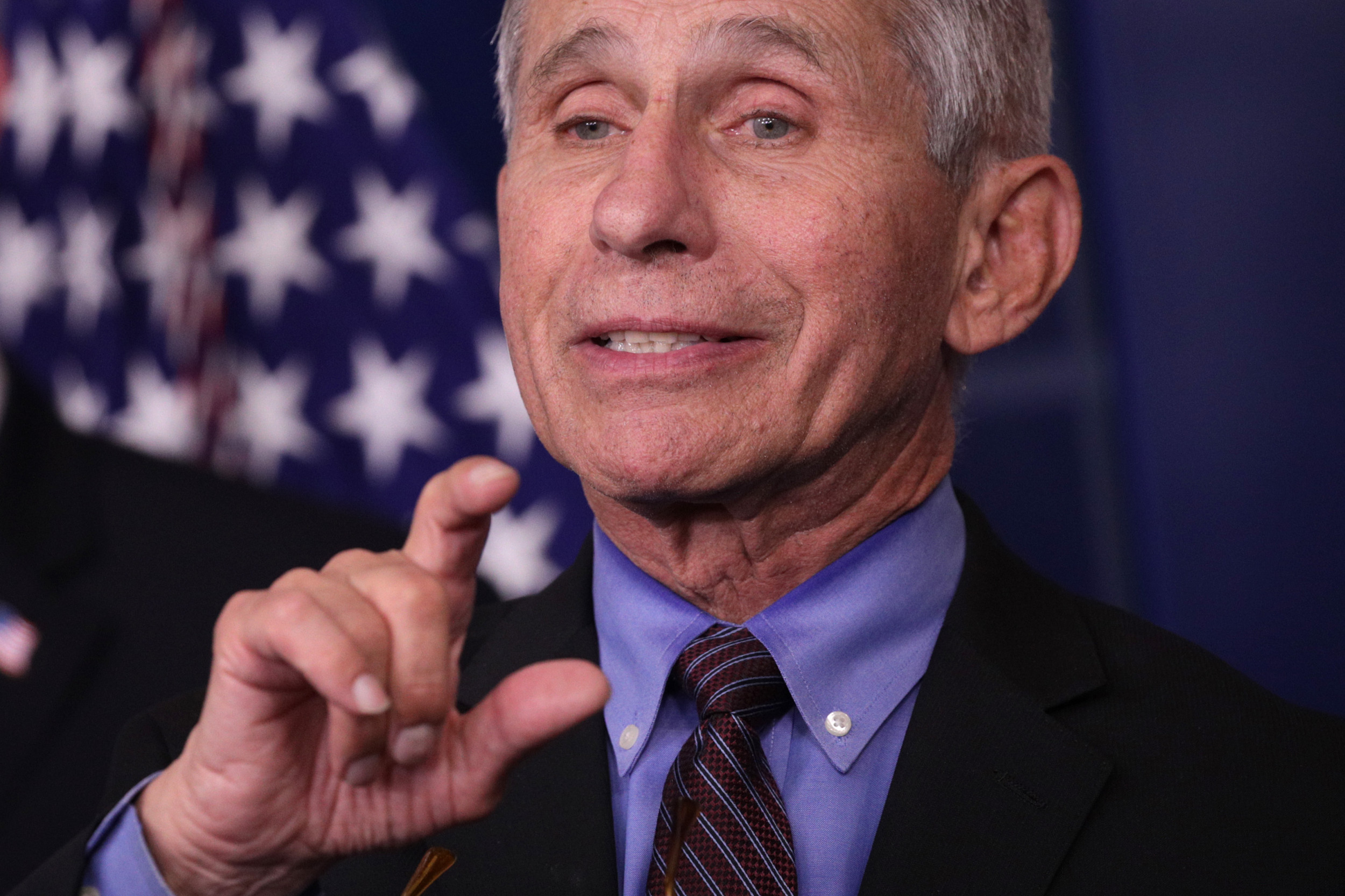 Dr. Fauci Says Coronavirus Antibody Tests Just 'Days Away', Large Number Will Be Available Within a Week
