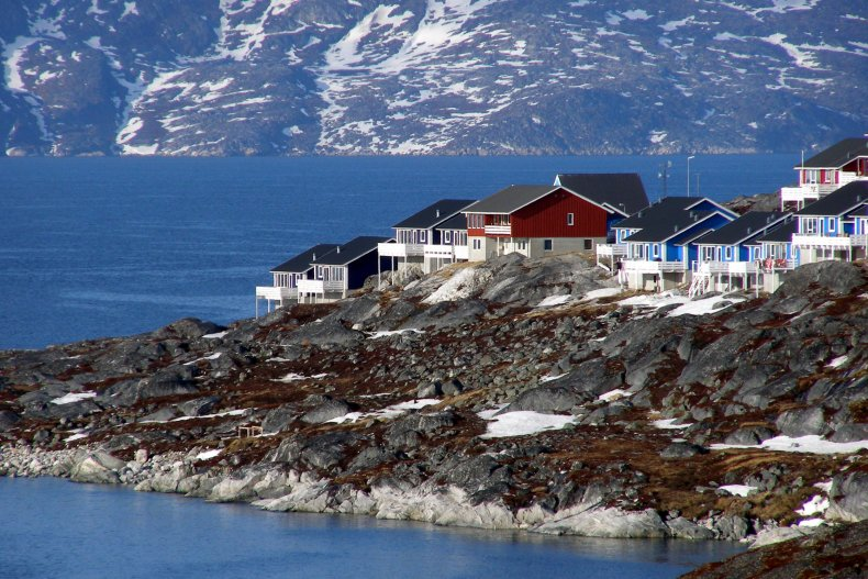 Outskirts of Nuuk Greenland june 2007