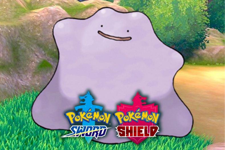 pokemon sword shield ditto raid event
