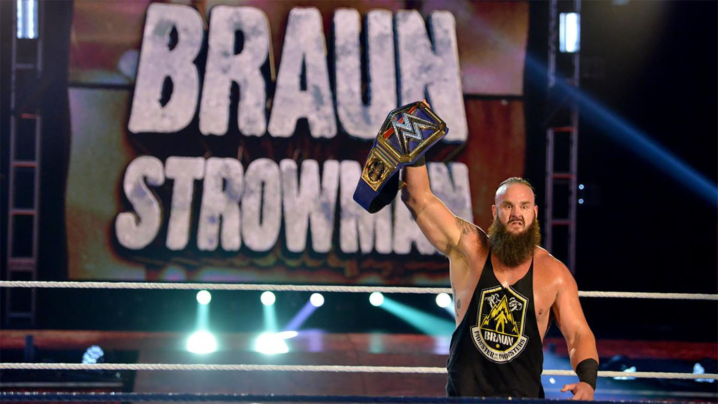 wwe braun strowman universal championship wrestlemania 36