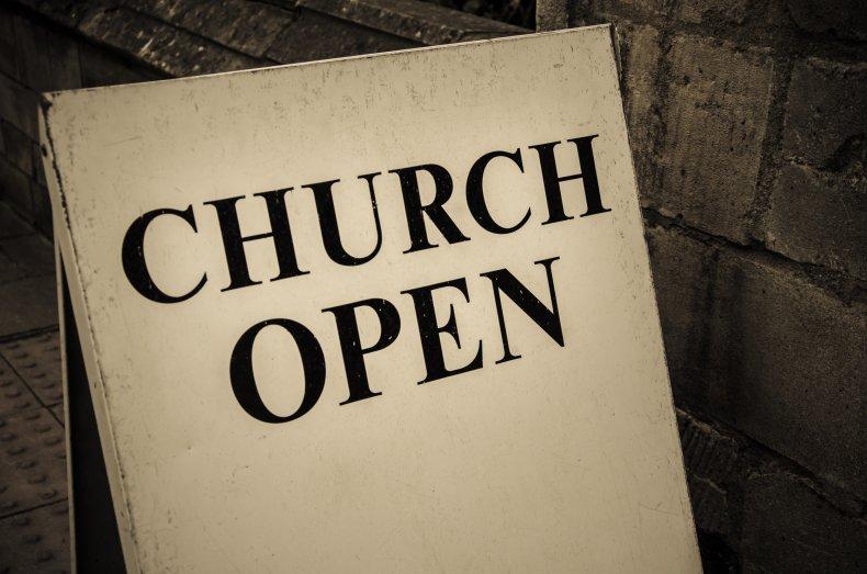 Church Open Sign
