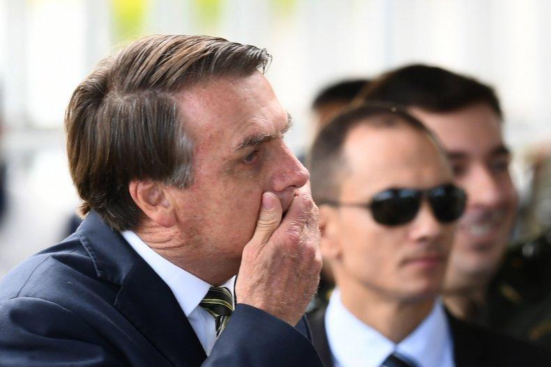 brazil president jair bolsonaro coronavirus