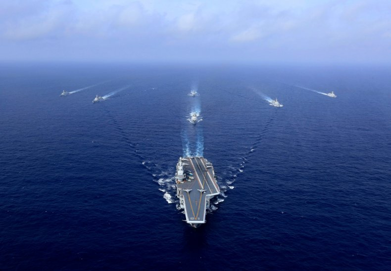 china, aircraft, carrier, liaoning, pacific