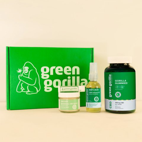 CUL_CBD_Green Gorilla Organic CBD Wellness Bundle