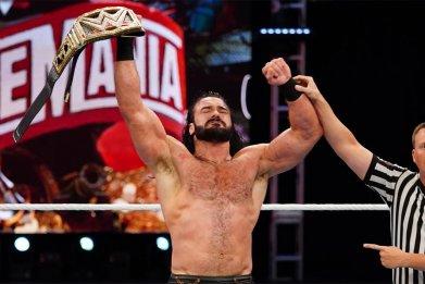 wwe monday night raw drew mcintyre champion