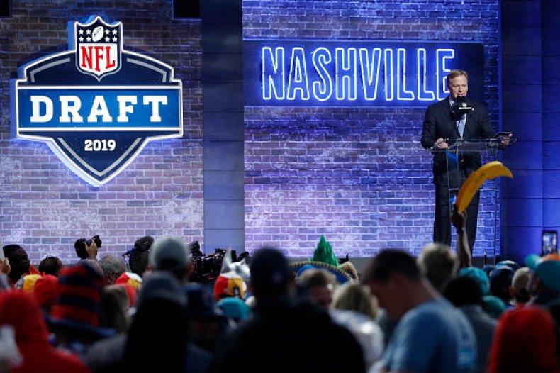 NFL Commissioner Roger Goodell