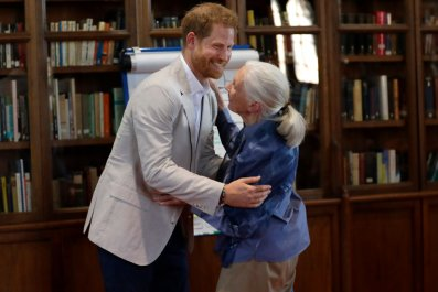 Prince Harry, Jane Goodall: Roots & Shoots