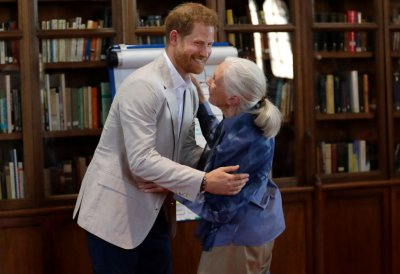Prince Harry, Jane Goodall Roots  Shoots