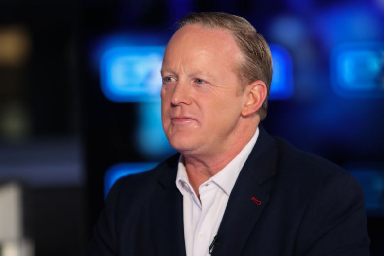 Sean Spicer at Burbank Studios