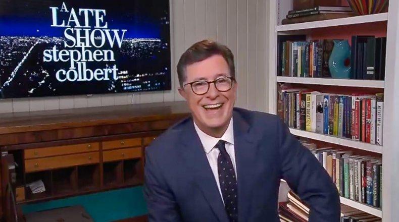 Stephen Colbert Preditcs Donald Trump Will Fire Anthony Fauci