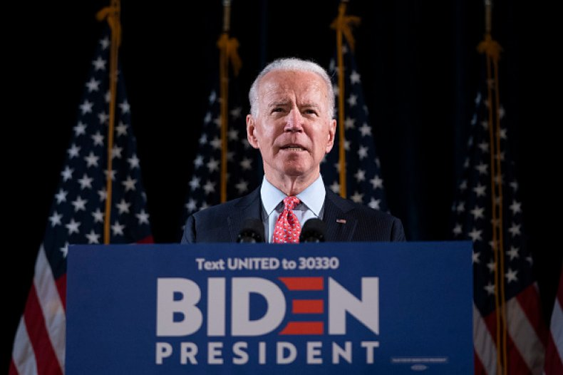 biden ahead trump six key states polls