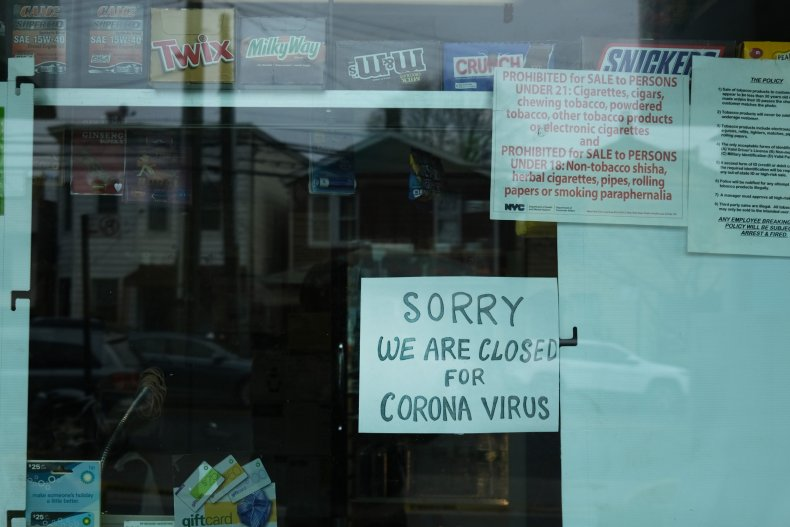 Queens business closed coronavirus