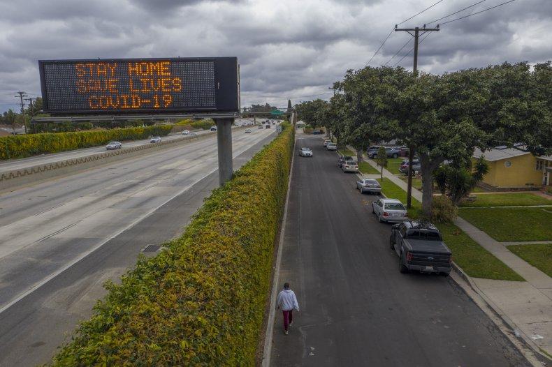 California Coronavirus Interstate