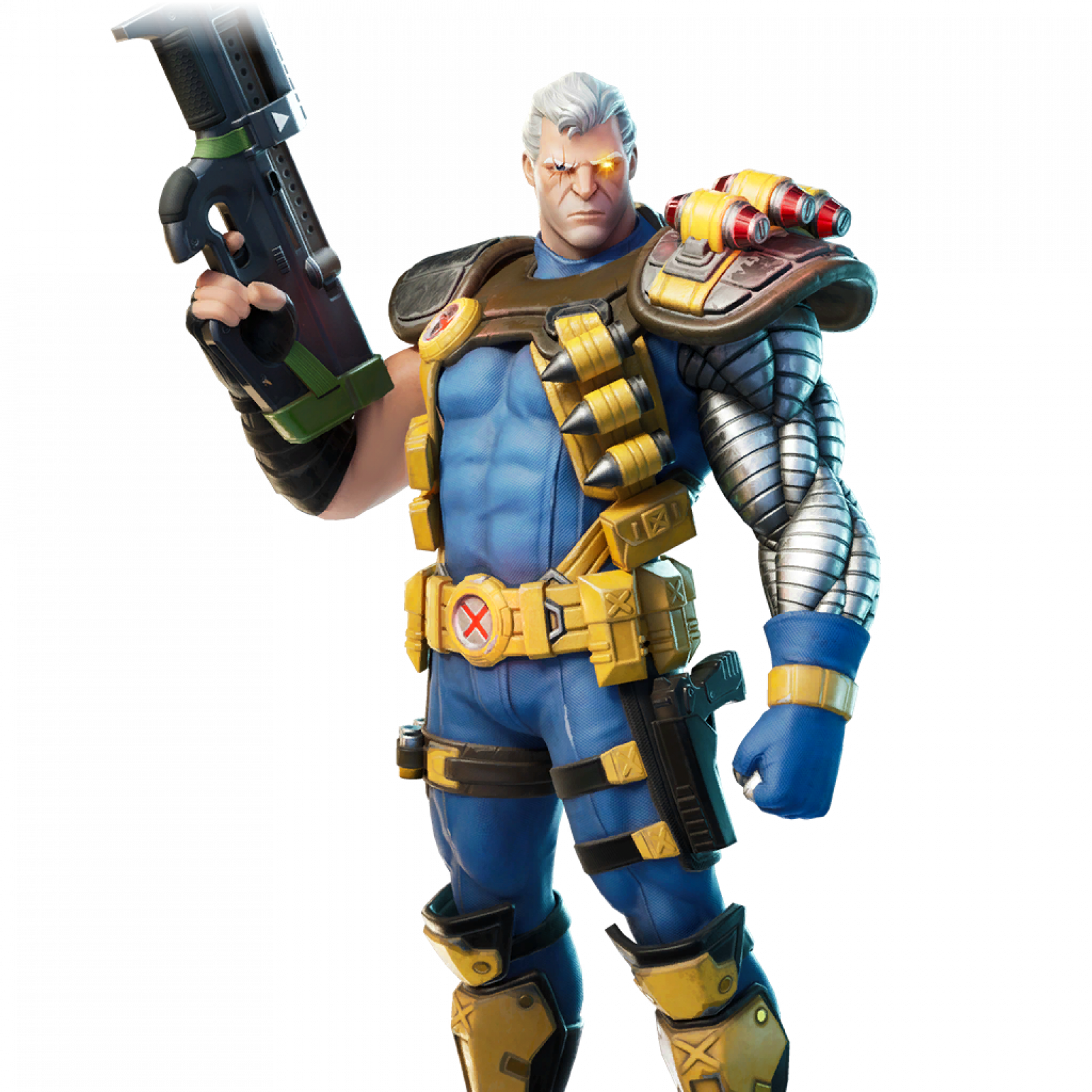 Fortnite V12 40 Leaked Skins Cable Domino And Psylocke Join The
