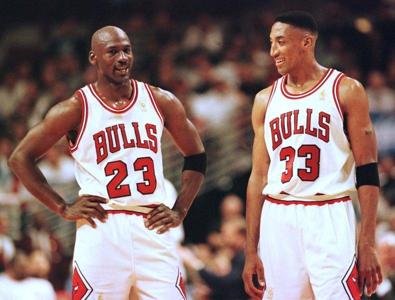 Michael Jordan, Scottie Pippen, Chicago Bulls