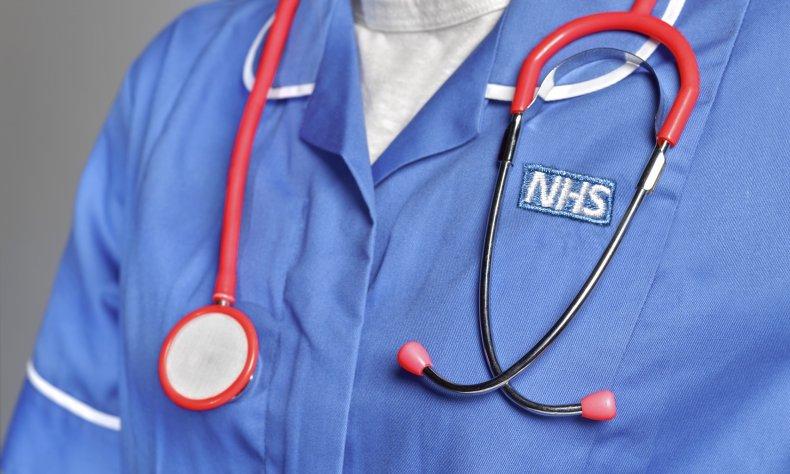 NHS nurse uniform