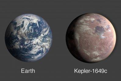 Earth, Kepler-1649c