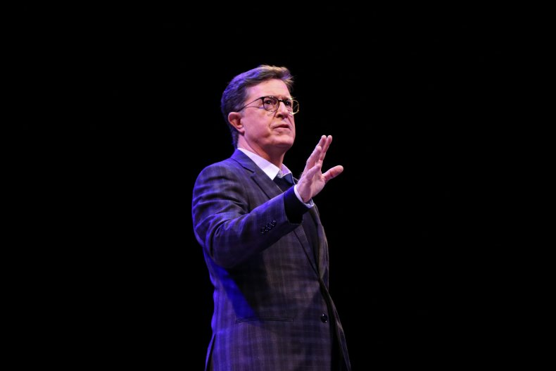 Stephen Colbert Realizes He Doesn't Criticize Trump Enough