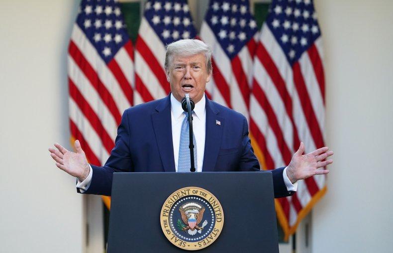 president donald trump, coronavirus, covid-19, white house,getty