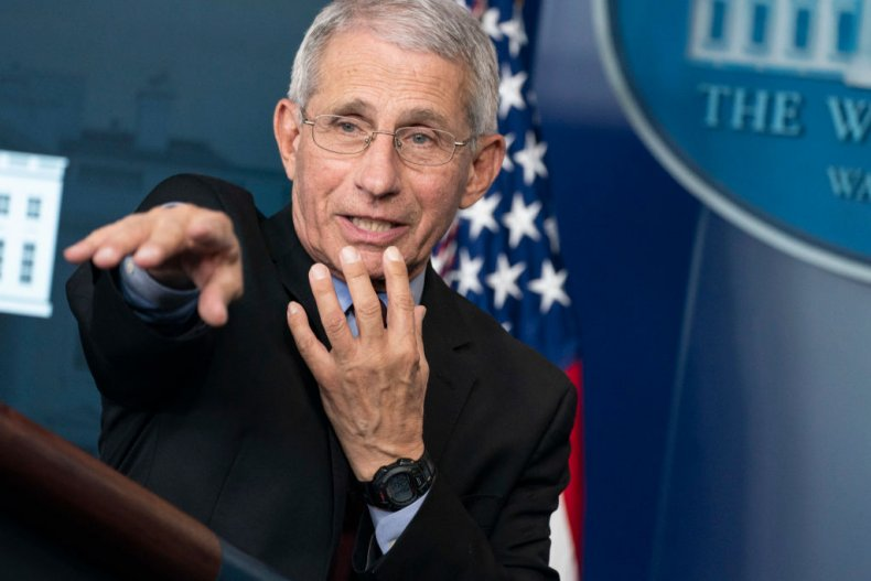 Dr. Anthony Fauci Coronavirus Briefing April 5