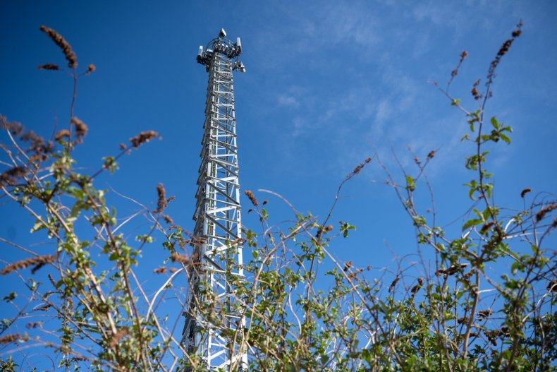 5G mobile phone mast