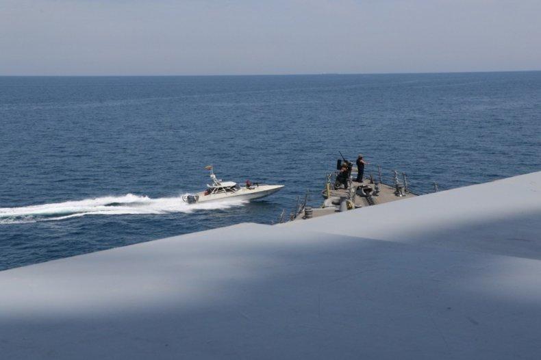 iran, revolutionary, guard, navy, us, military