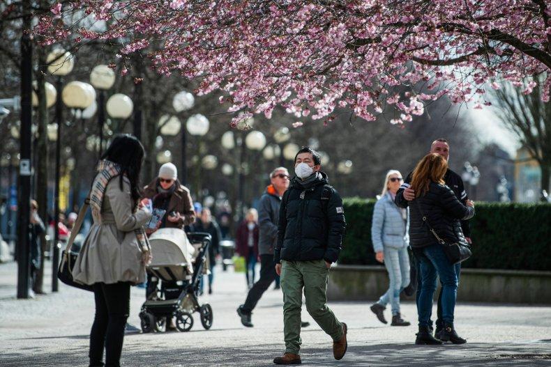 Sweden Stockholm coronavirus March 2020