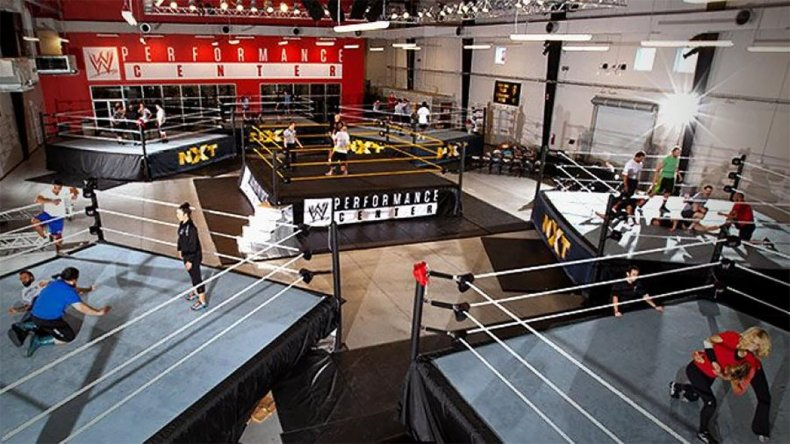 wwe performance center nxt