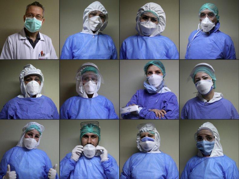 syria, coronavirus, covid-19, damascus, medical