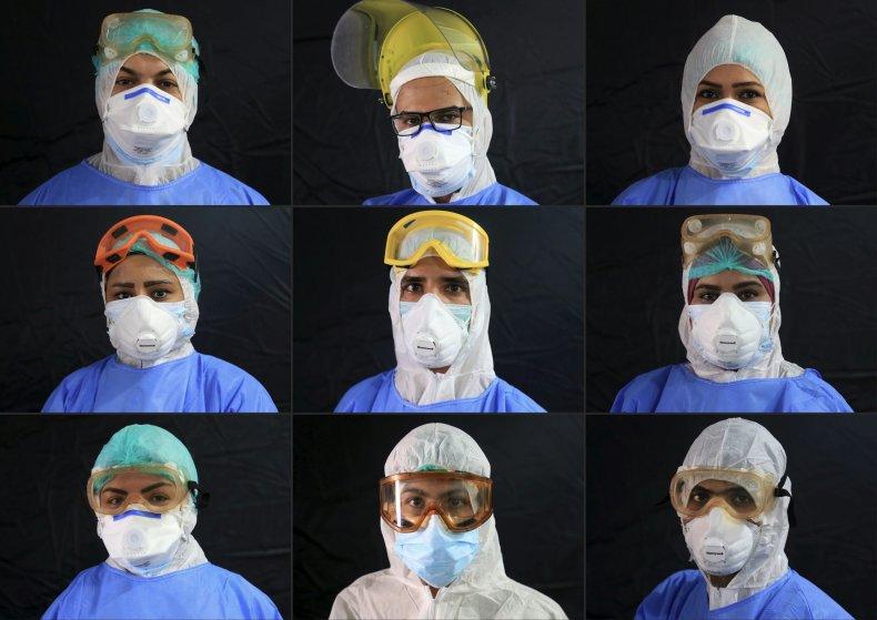 iraq, coronavirus, covid-19, karbala, medical, professionals