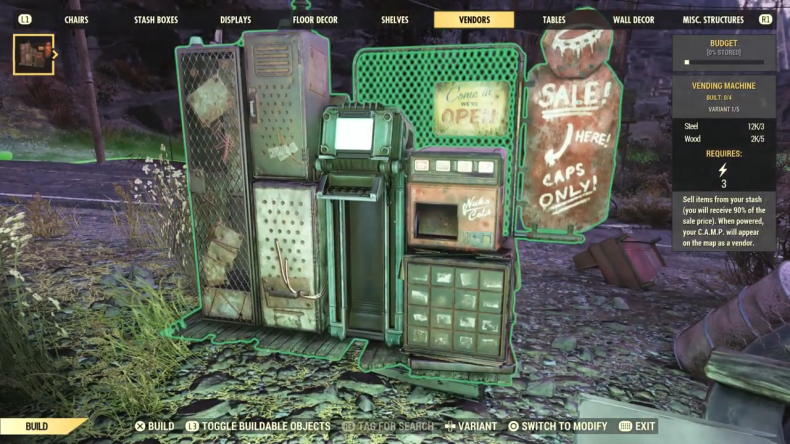 fallout 76 vending machine
