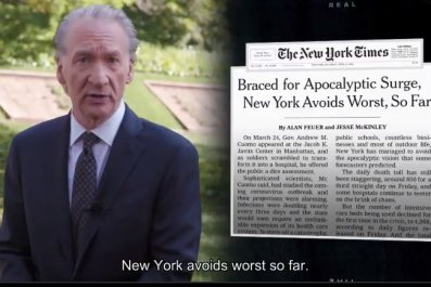 bill maher coronavirus news coverage