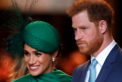 Prince Harry, Meghan Markle at Commonwealth Day