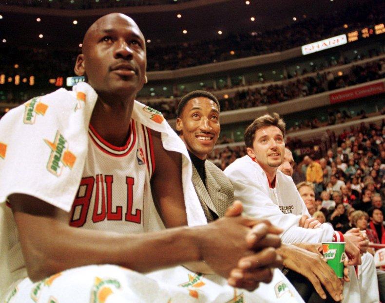 Michael Jordan, Chicago Bulls, Scottie Pippen