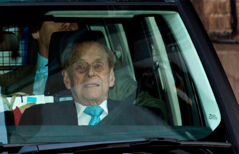 Prince Philip Leaves Hopsital In London