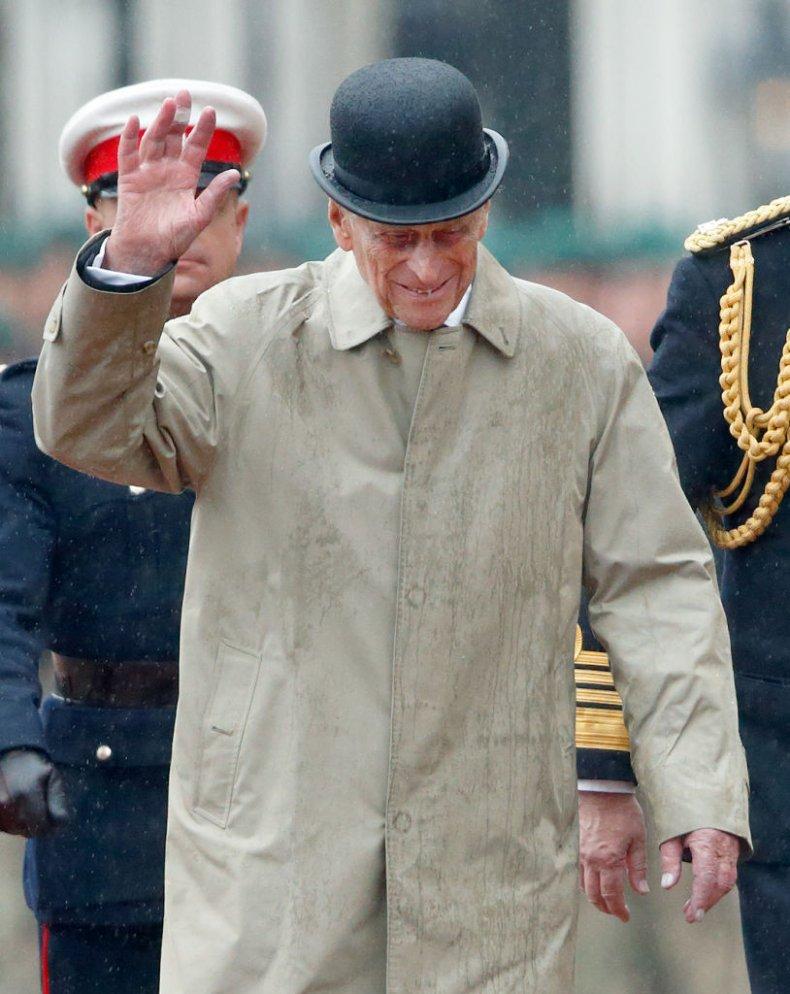 Prince Philip Retirement Captain General's Parade