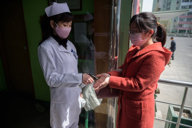 Pyongyang, North Korea, coronavirus, April 2020