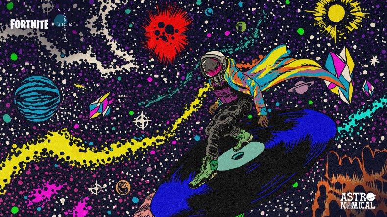 fortnite travis scott concert astronomical where watch